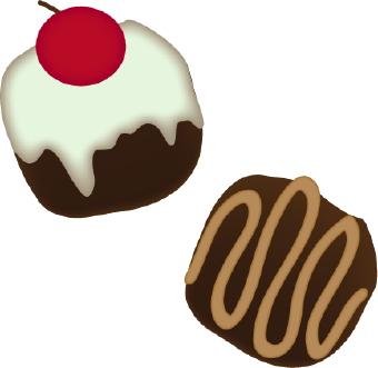 Chocolates clip art dromice top 3 image #27797.