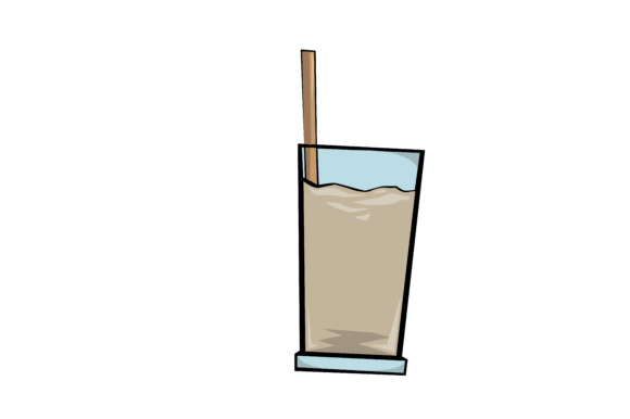 Vector Drink (Choco milk).