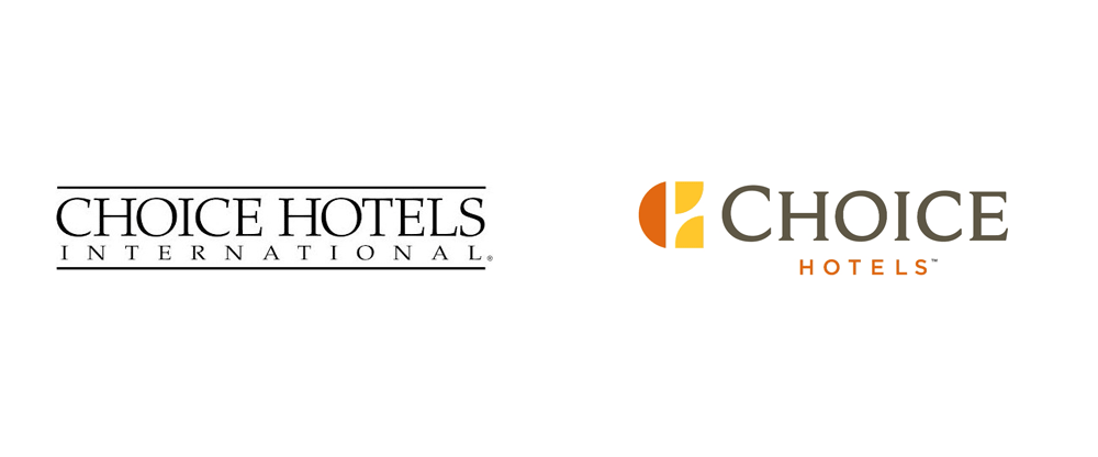 Brand New: New Logo for Choice Hotels.
