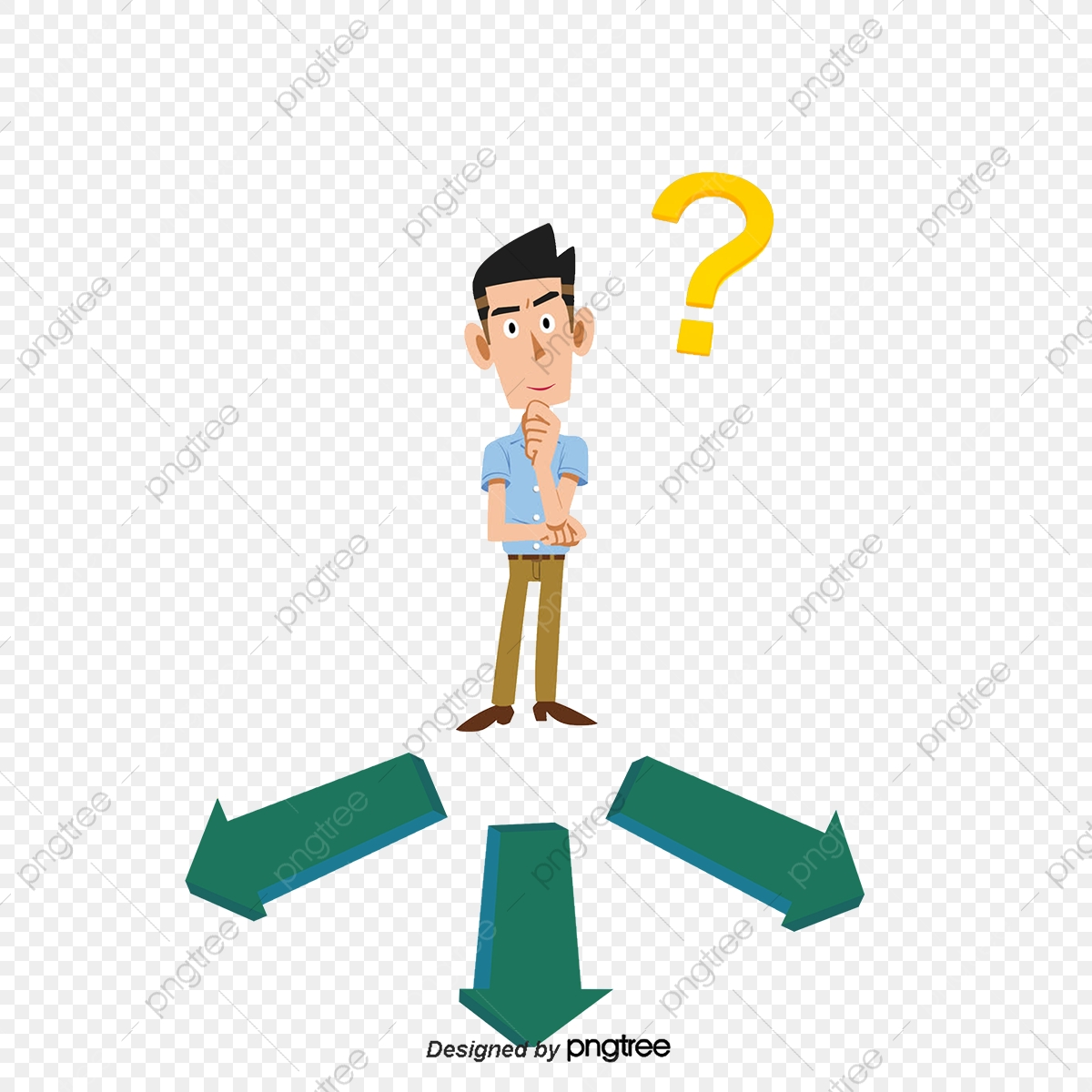Face The Choice, Select, Variety, Cartoon PNG Transparent Clipart.