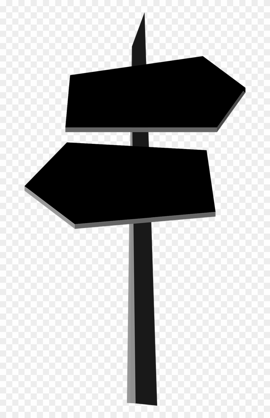 Signpost Direction Choice.