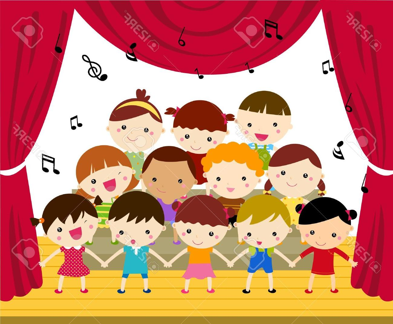 Unique Concert Band And Choir Cartoons Vector Library » Free Vector.