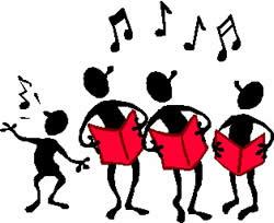choir rehearsal on Friday.