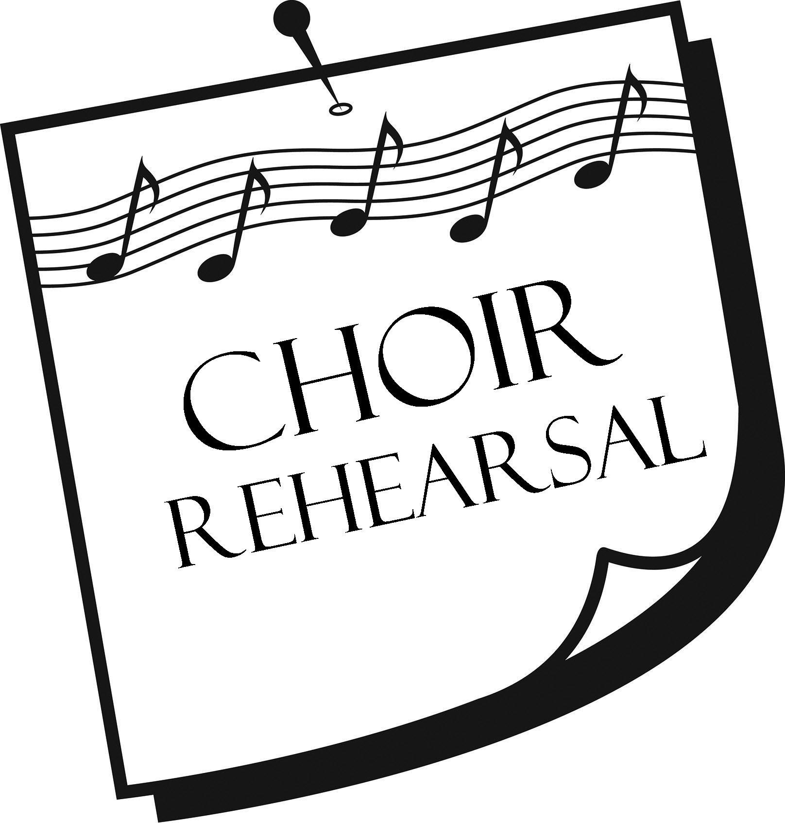 1719 Choir free clipart.