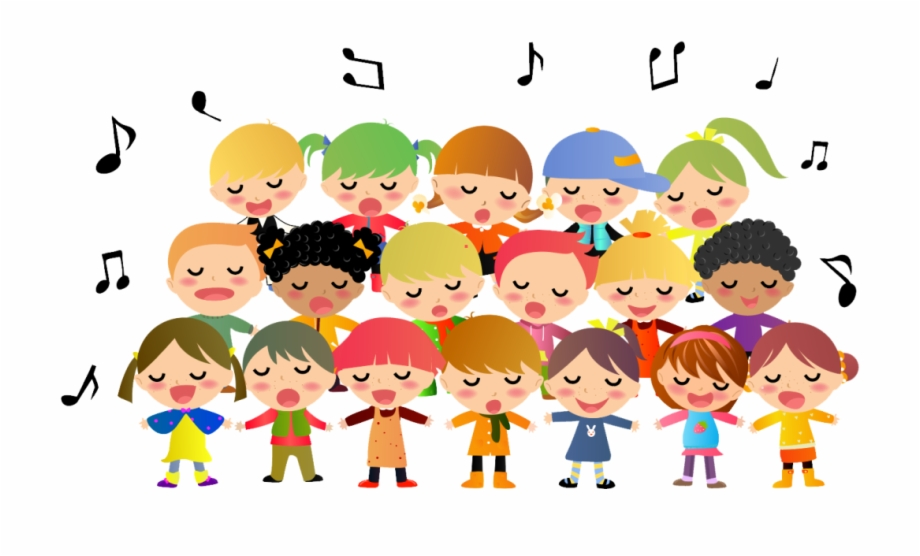 Children Singing Clipart Free PNG Images & Clipart Download #2151867.