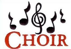 Free Church Choir Clipart.
