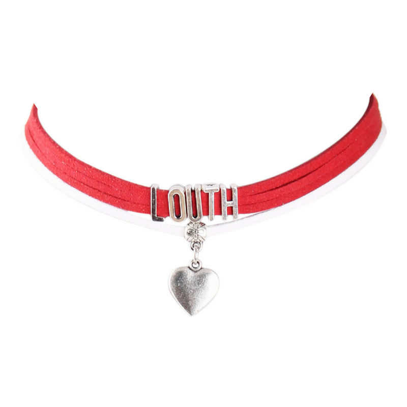 Louth County Colours GAA Choker Necklace.