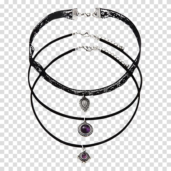 Earring Choker Necklace Jewellery Charms & Pendants, Leather.