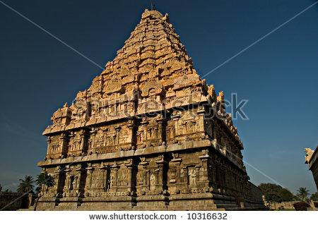Chola Temples Stock Photos, Royalty.