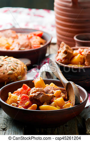 Hungarian Cholent Slow Cooker Beef.