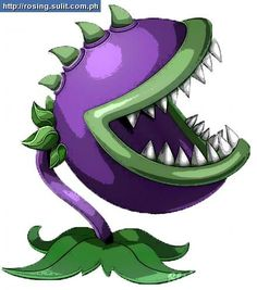 Chomper Plants Vs Zombie Clipart.
