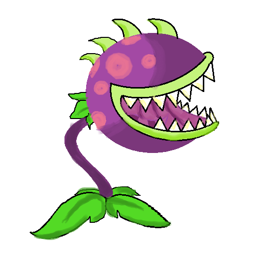 Chomper plants vs zombies.