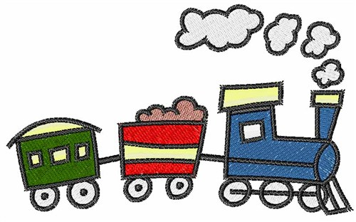 Choo Choo Train Clipart.