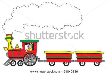 Choo Choo Train Clipart.