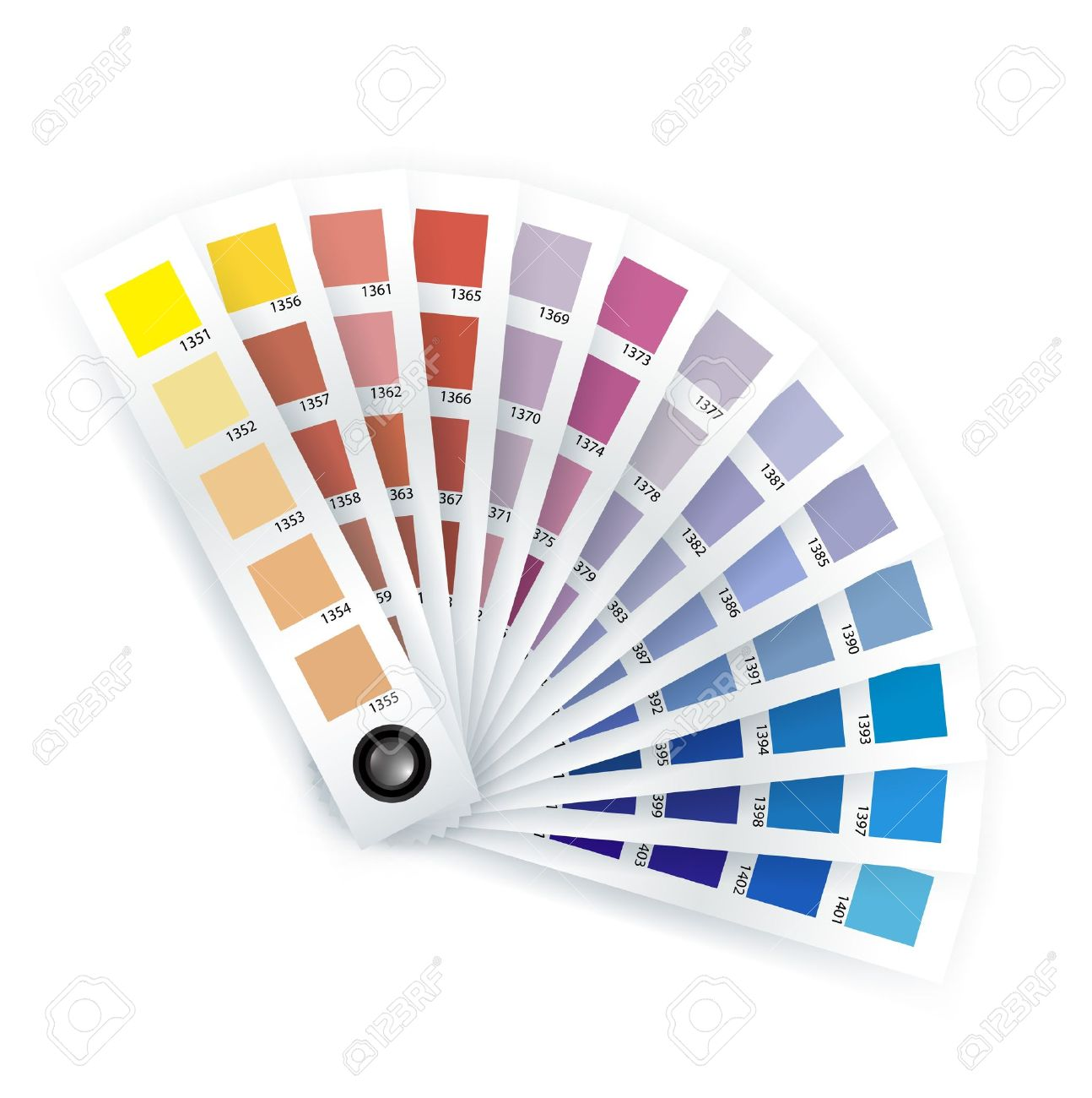 Print Item; Color Chooser On White Royalty Free Cliparts, Vectors.