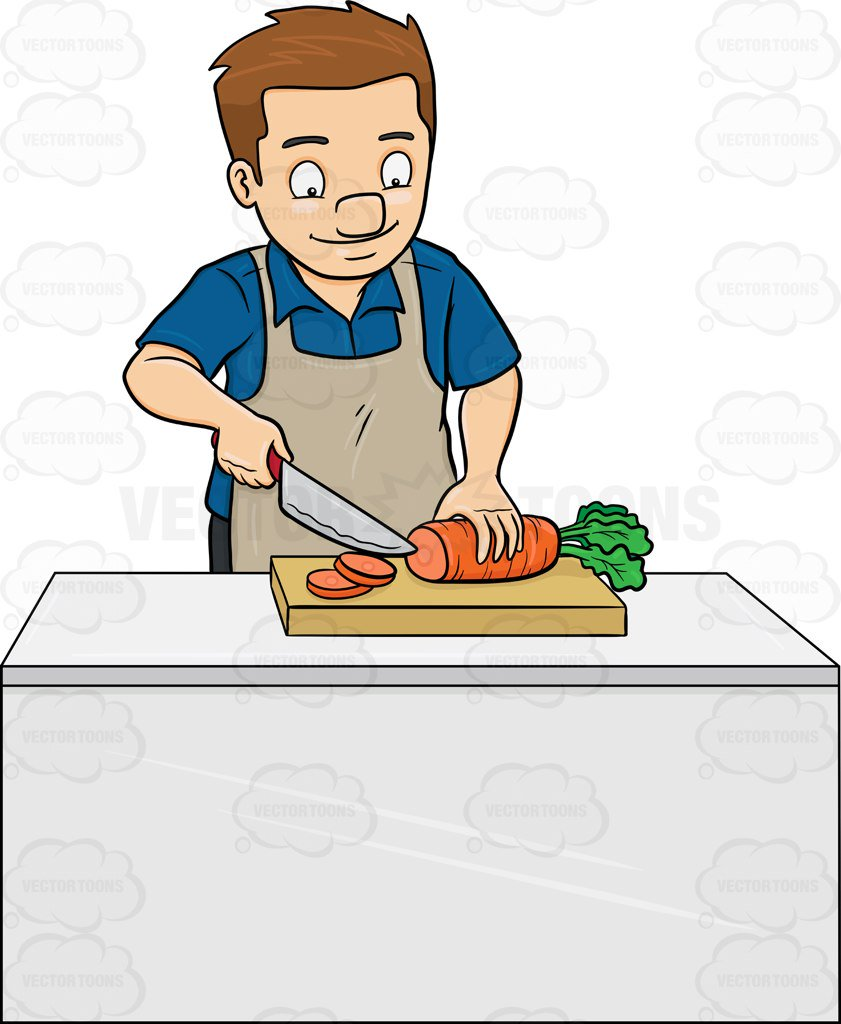 Gallery For Chop Vegetables Clipart.