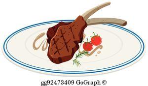 Lamb Chop Clip Art.