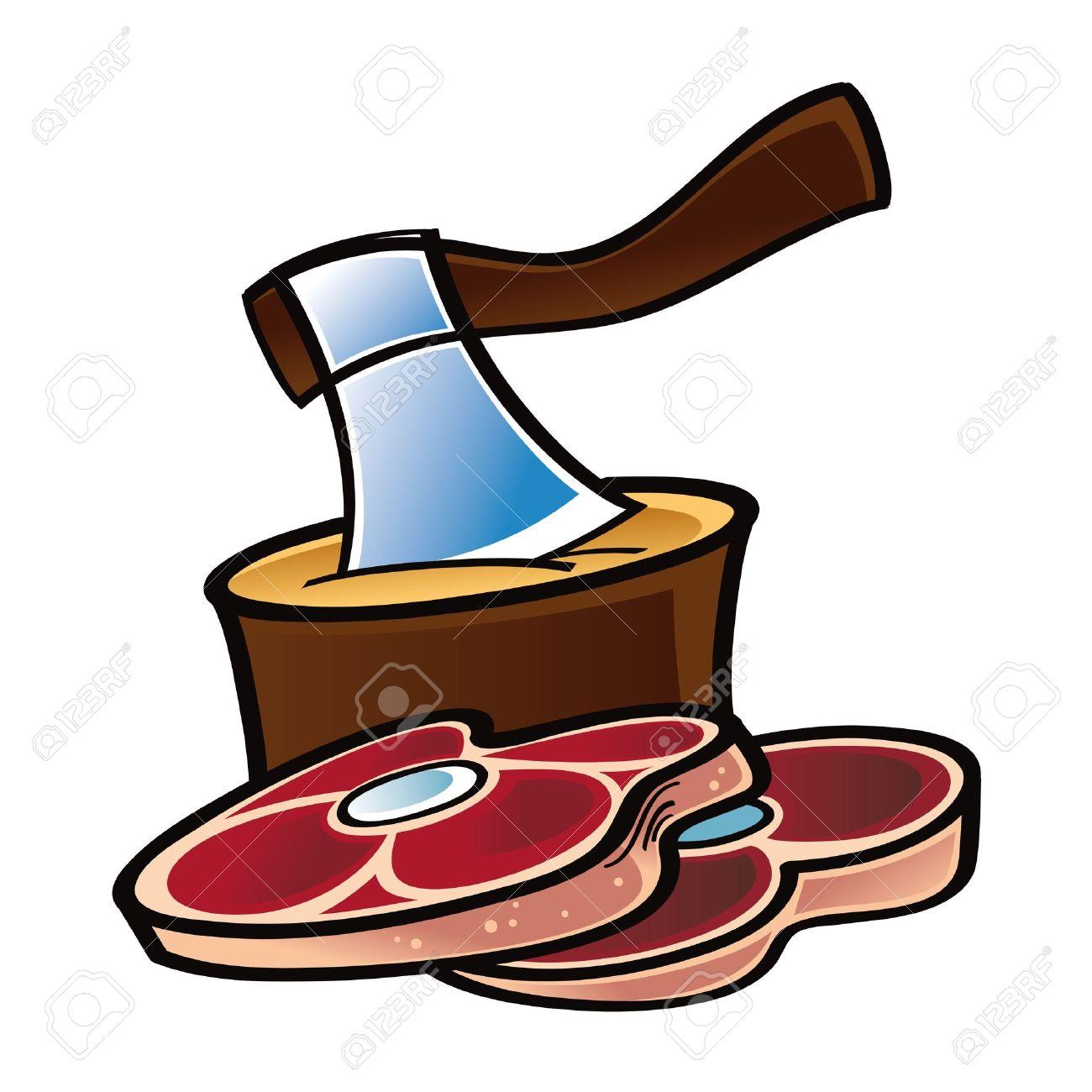 Lamb chop clipart.
