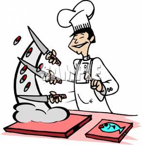 Chop food clipart.