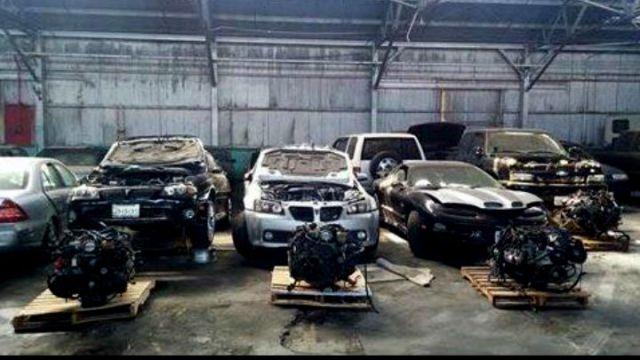 Major Oakland Stolen Car Chop Shop Busted « CBS San Francisco.