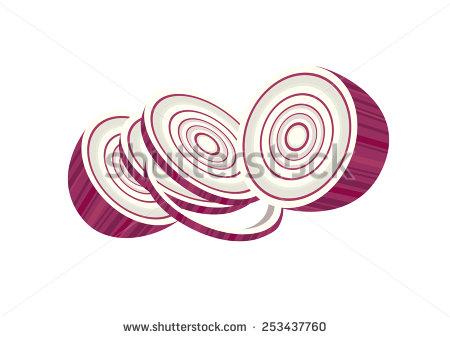 Chopped Onion Clip Art.