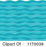 Choppy Water Clipart.
