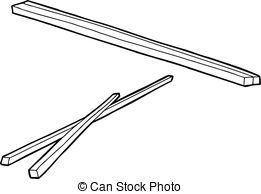 Wooden chopsticks Vector Clip Art EPS Images. 344 Wooden.