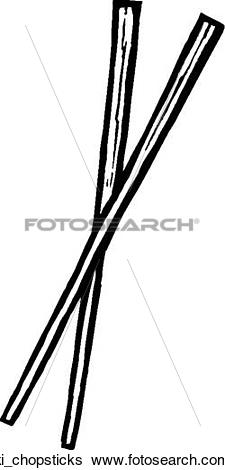 Clip Art of Chopsticks ki_chopsticks.