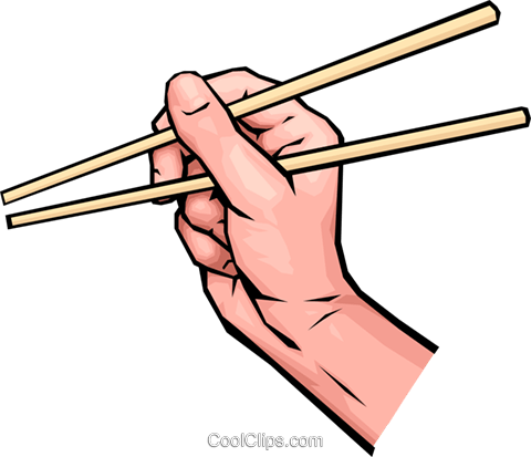 Chopsticks clipart free.