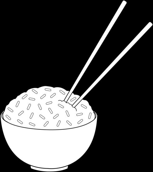 224 Chopsticks free clipart.