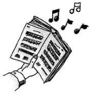 Hymn clipart #6
