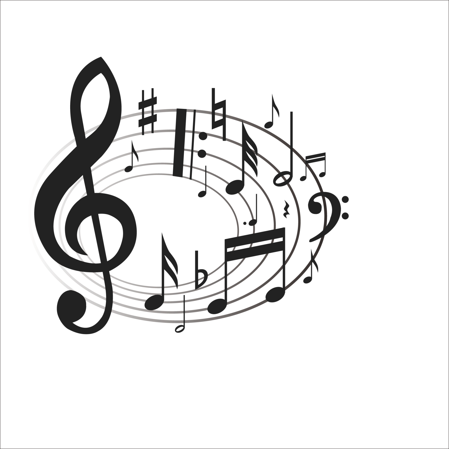 Musical clipart choral music, Musical choral music Transparent FREE.
