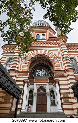 Picture of Grand choral synagogue; st. petersburg russia 2076897.