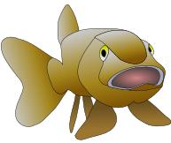 Free Fish Cartoon Clipart, 1 page of Public Domain Clip Art.