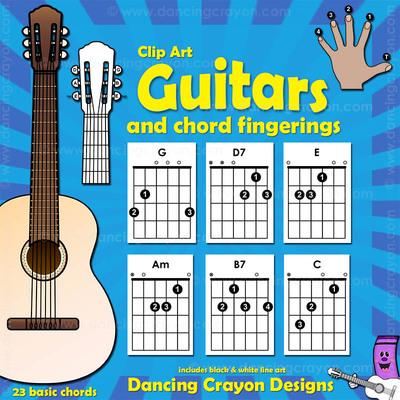 Ukulele Chord Clip Art and Ukulele Clip Art.