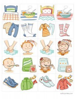 Fantastic clip art. This is perfect for E's daily chart..