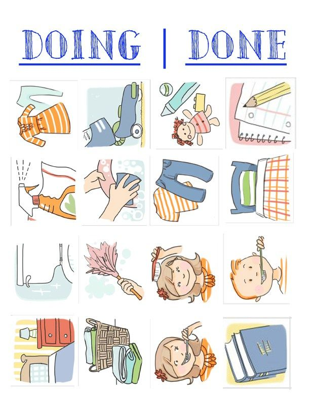 Job Chart Chore Chart Clip Art Chore Chart Illustrations.