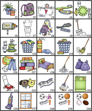150 chore Chart PNG cliparts for free download.