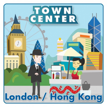 Town Center : London / Hong Kong.