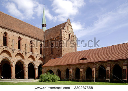 Chorin Monastery Stock Photos, Royalty.
