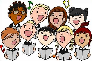 Free Choir Clipart.