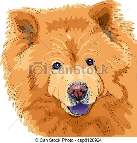 Chow Clipart and Stock Illustrations. 661 Chow vector EPS.