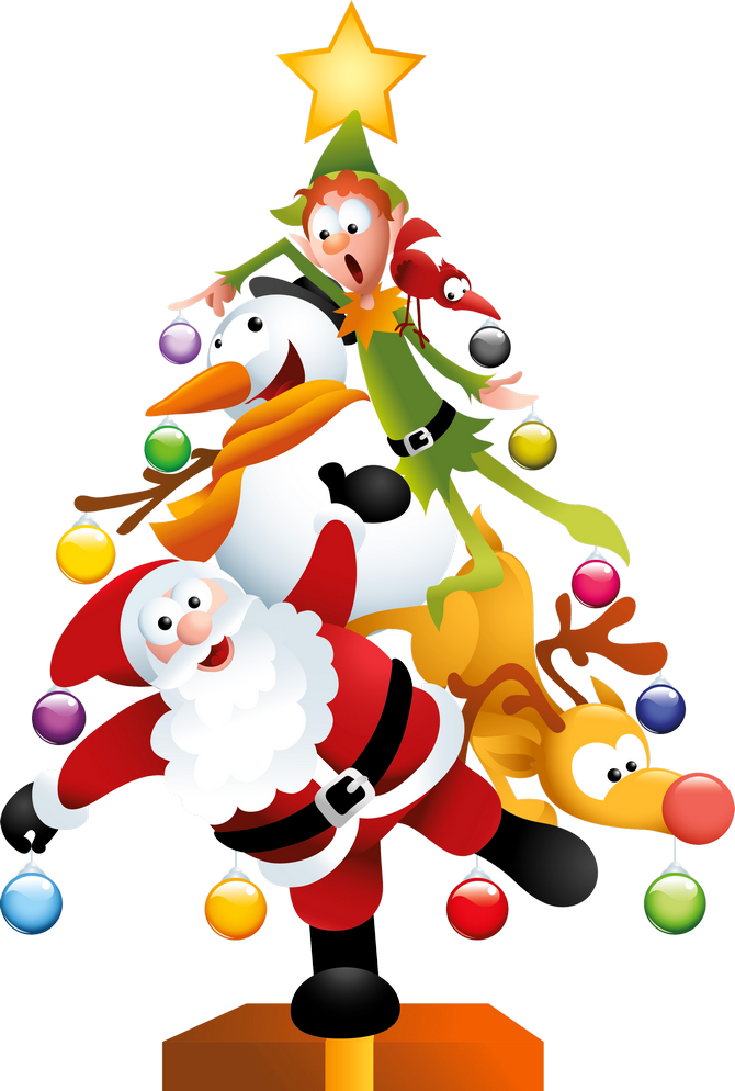 free christmas png clipart #13