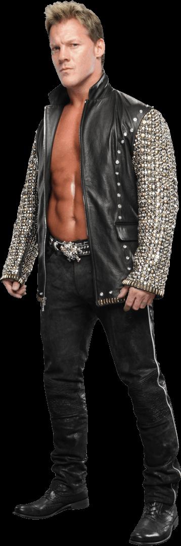 Chris Jericho Standing transparent PNG.