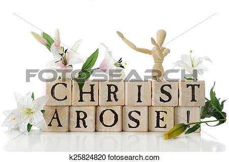 Christ Arose Clipart.