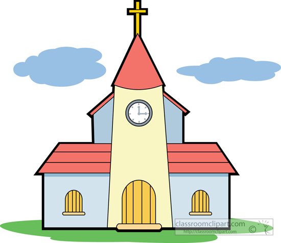 Christian Church Clipart.