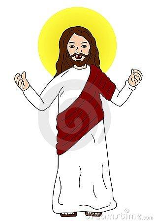Jesus christ clip art.