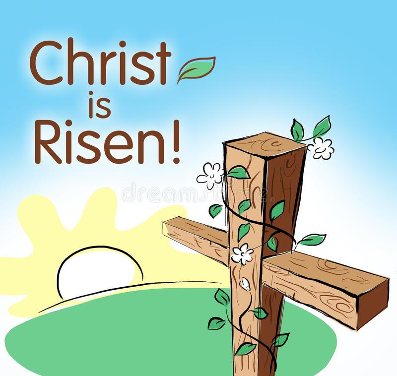 Christ Risen Stock Illustrations.