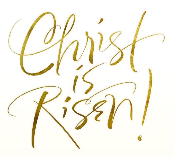 Typography clipart religious #1.