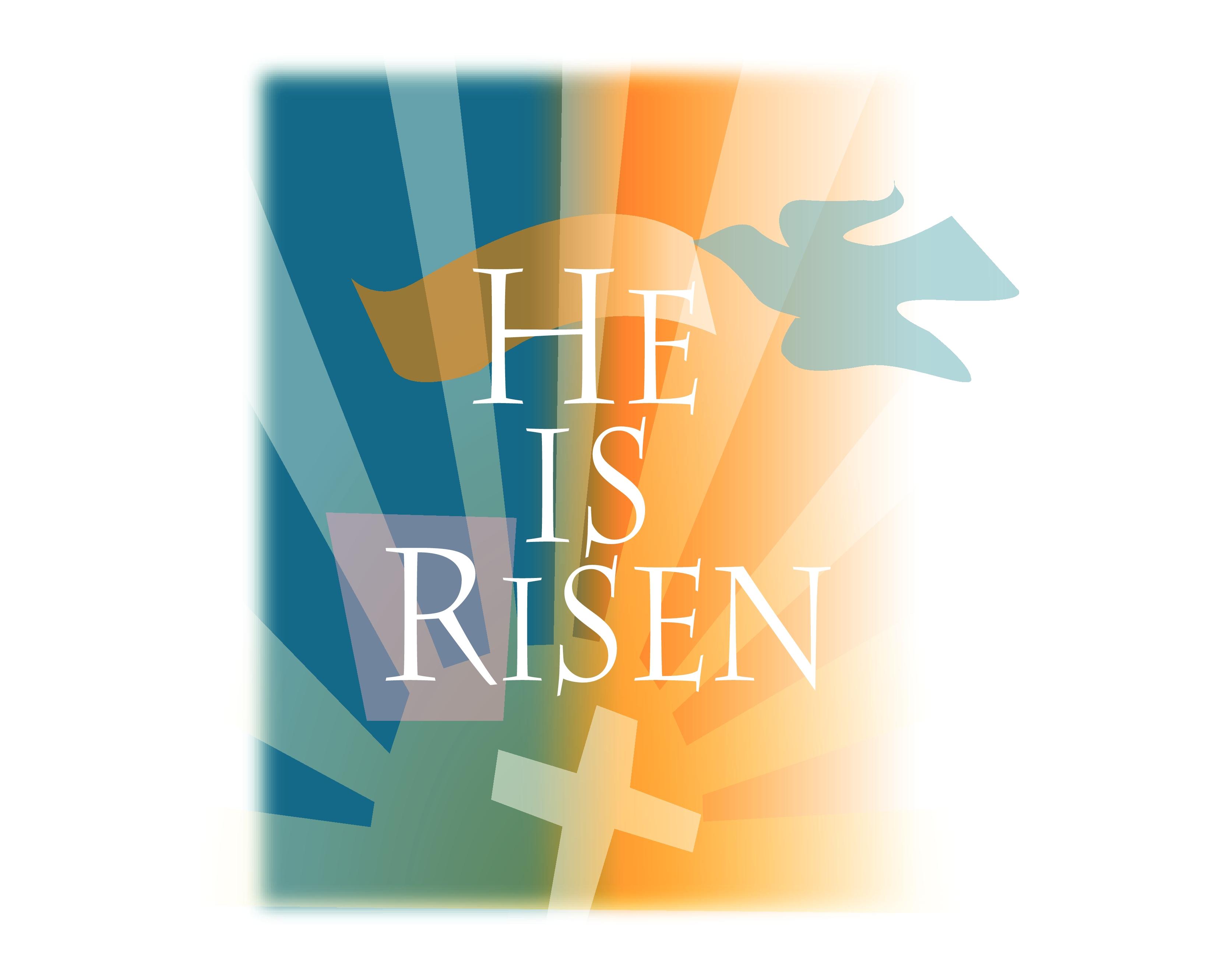 Jesus Has Risen Clipart.